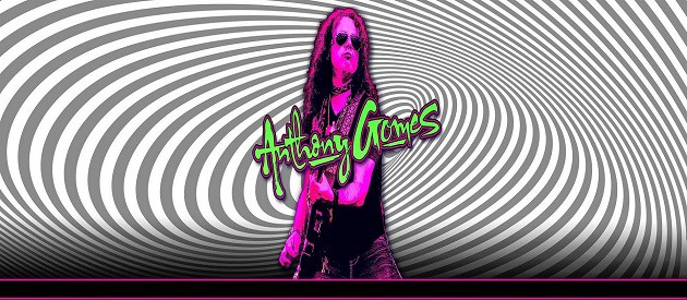 Album Review – Anthony Gomes – Electric Field Holler – Up 2 Zero Entertainment