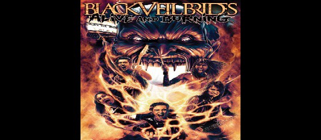 DVD Review – Black Veil Brides – Alive and Burning