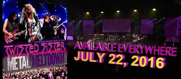 CD/DVD/Blu-Ray Review – TWISTED SISTER – THE SOUND OF THUNDER – A TRIBUTE TO A.J. PERO – METAL MELTDOWN – LIVE FROM THE HARD ROCK CASINO LAS VEGAS – Rock Fuel Media and Loud & Proud Records