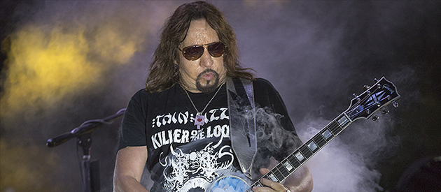 Review: Ace Frehley- Motor City Harley Davidson Music and Food Festival – Farmington Hills, MI – 8/28/16