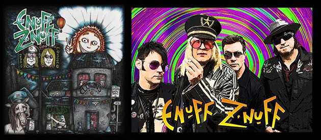 Album Review – Enuff Z'Nuff – Clowns Lounge – Frontiers Records r.s.l.