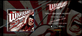 Single Review – Warrant – Only Broken Heart – Frontiers Music srl