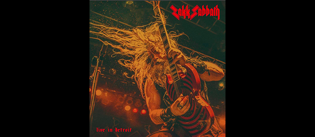 Zakk Sabbath: Black Sabbath Cover Band Led By Guitarist/Vocalist Zakk Wylde To Release Limited Live In Detroit LP Via Southern Lord Recordings