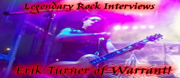 Interview with Erik Turner of Warrant