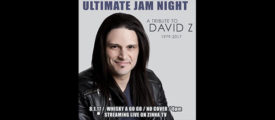 ULTIMATE JAM NIGHT TO HOLD TRIBUTE TO ADRENALINE MOB ACCIDENT VICTIM DAVID Z.